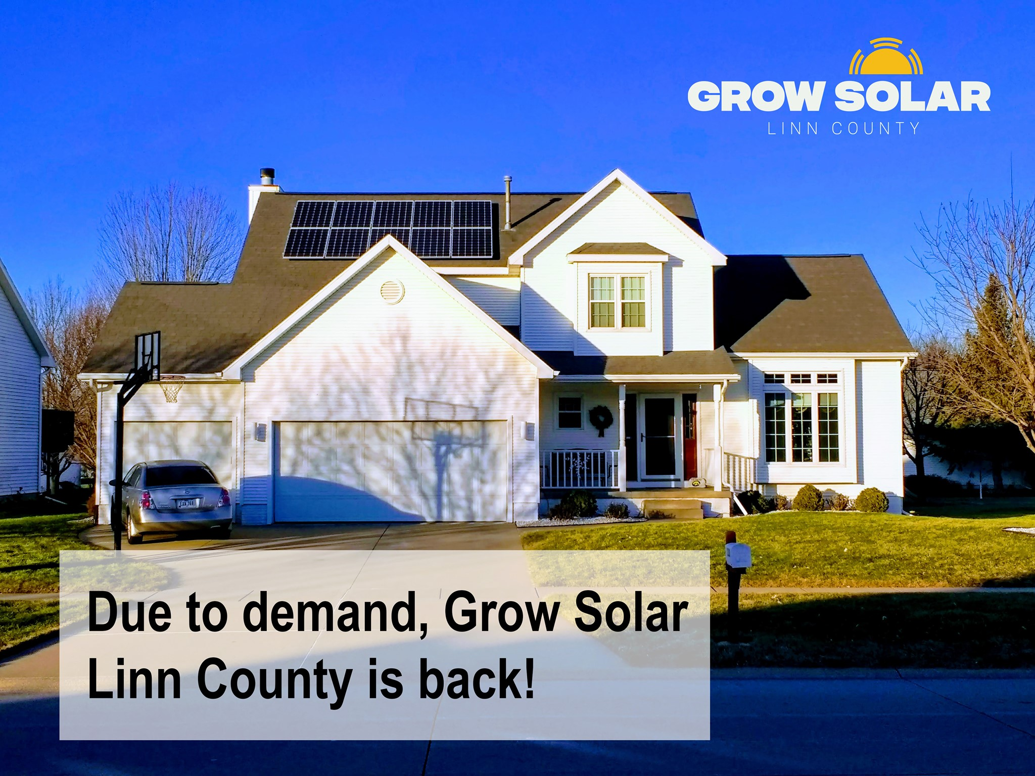 Graphic photo for Grow Solar Lin County