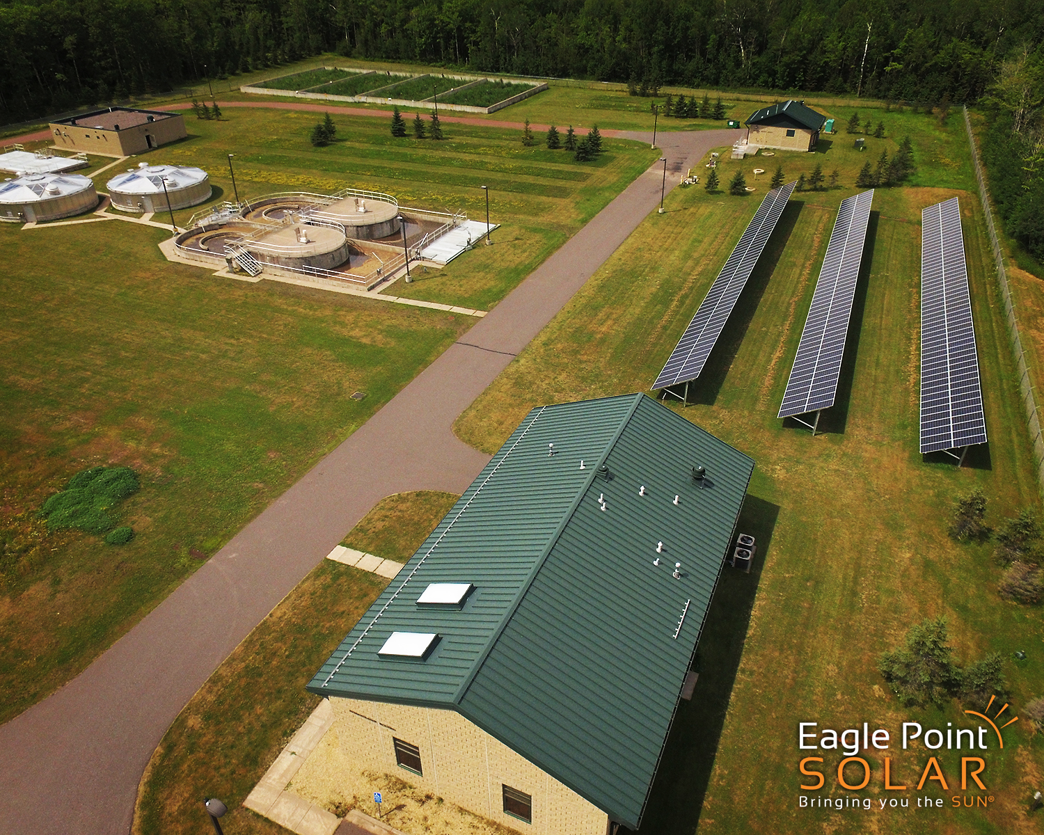 GREATER BAYFIELD WASTE WATER TREATMENT PLANT PHOTO