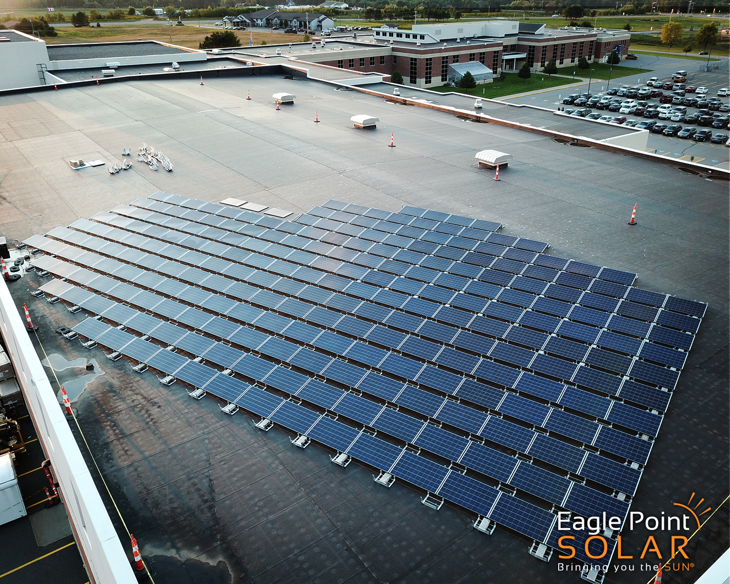 Northland Pines Community School District Solar Array