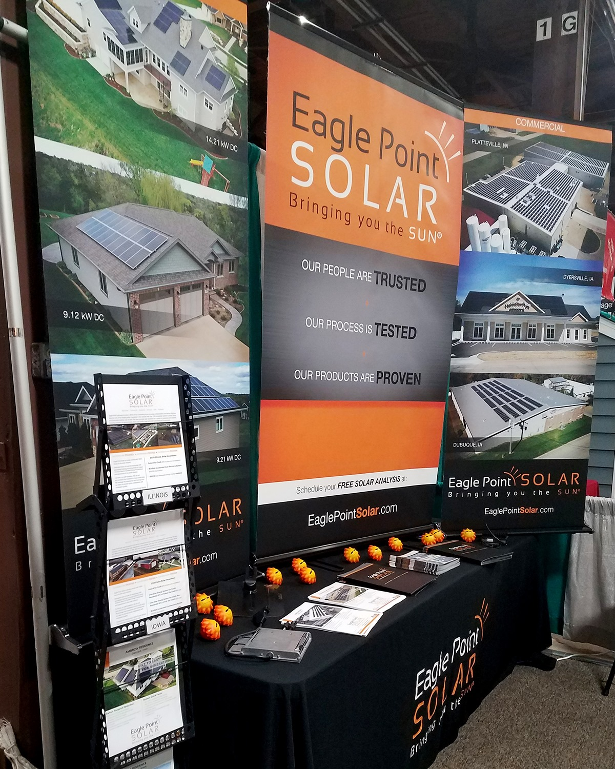 Eagle Point Solar at Quad Cities Builders & Remodelers Association's Home Expo
