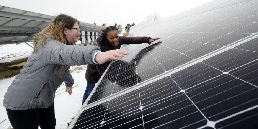 We love solar power!