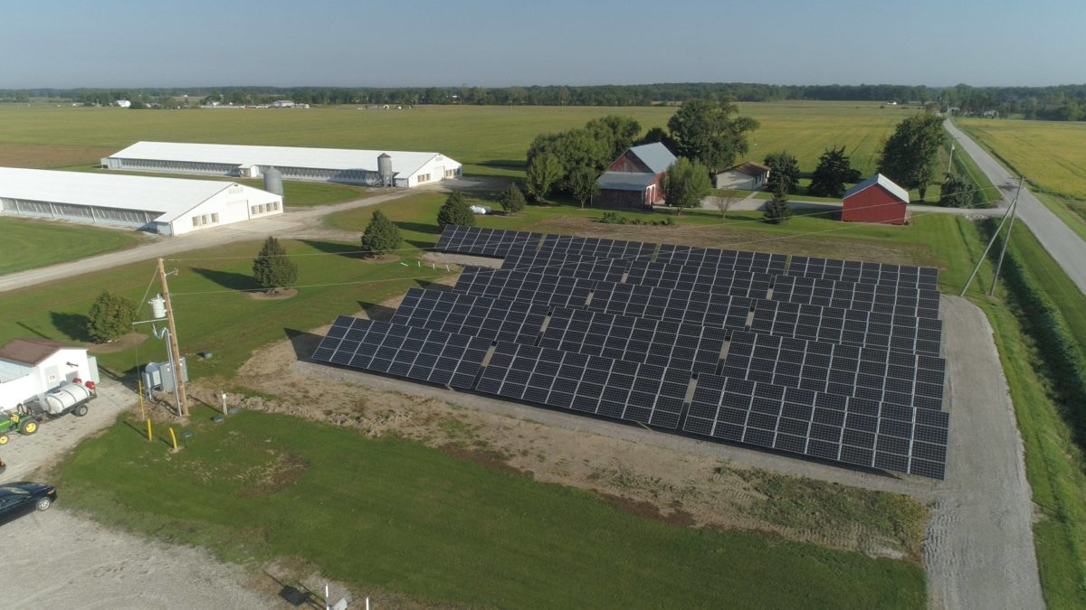 Oakwood, Ohio Solar Array installed by Eagle Point Solar