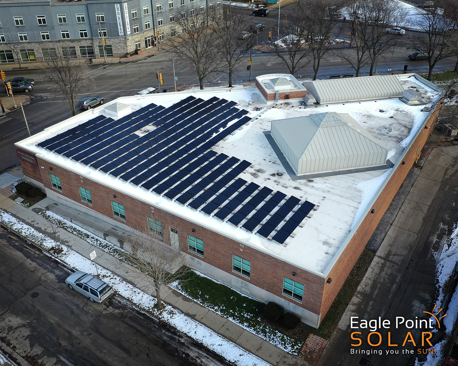 Eagle Point Solar - Solar Array Installation